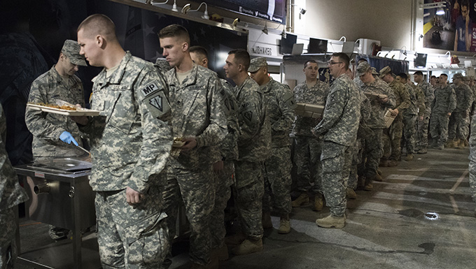 116th FSS Services Supports 58th Presidential Inauguration