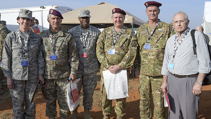 116th ACW Officer supports state partnership with Argentina