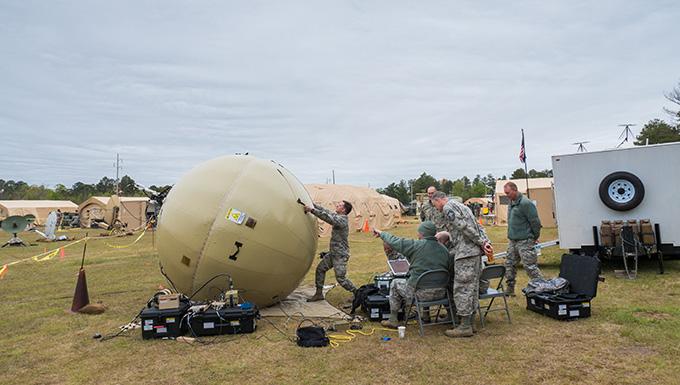 283rd Combat Comm trains at Robins AFB