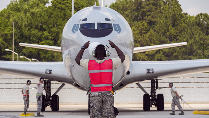 Team JSTARS Aircraft Maintenance